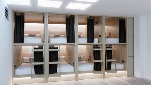 Singular Hostel By Eurotels (Albergue Juvenil) - Palma de Mallorca - Bedroom