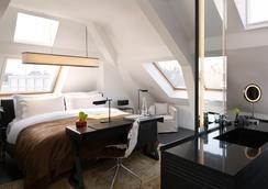 โรงแรมเซอร์อัลเบิร์ต อัมสเตอร์ดัม - อัมสเตอร์ดัม - ห้องนอน