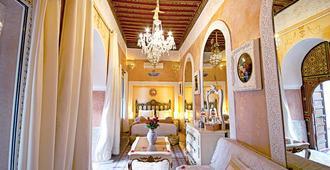 رياض قصر الأميرات - مراكش - غرفة نوم