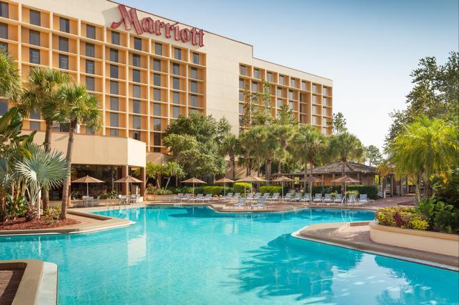 奧蘭多機場萬豪酒店 - 奥蘭多 - 奧蘭多 - 游泳池