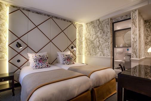 Hôtel Jardin Le Bréa - Paris - Bedroom