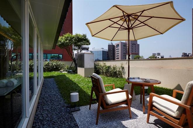 Taipei Fullerton Hotel-Maison North - Taipei - Patio