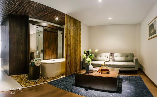Alagon Zen Hotel & Spa - Ho Chi Minh City - Living room