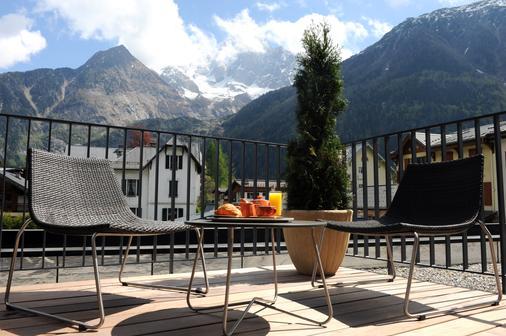 Hotel Les Lanchers - Chamonix - Parveke