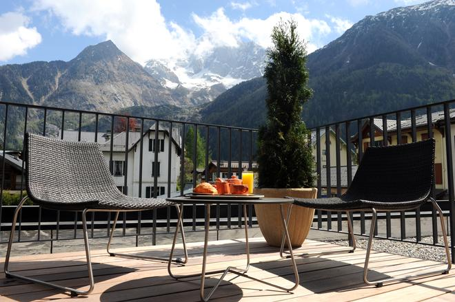 Hotel Les Lanchers - Ле-Тин - Балкон