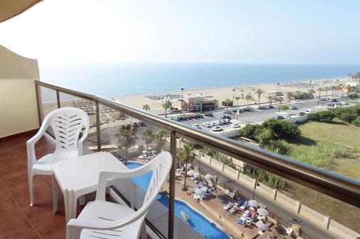 馬克弗特海灘俱樂部酒店 - 式 - 托雷莫里諾斯 - 多列毛利諾斯 - 陽台
