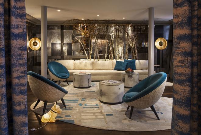 特蕾澤酒店 - 巴黎 - 巴黎 - 休閒室