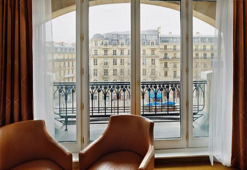 Paris Marriott Champs Elysees Hotel - Paris - Balcony