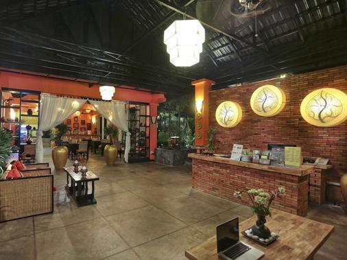 Villa Indochine D'angkor - Siem Reap - Lobby