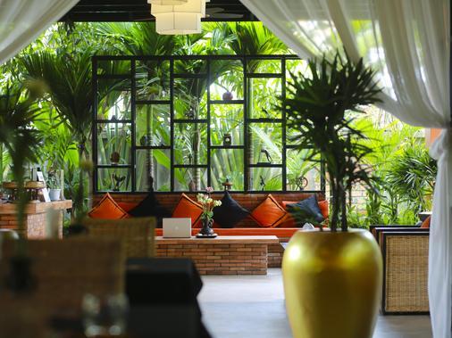 Villa Indochine D'angkor - Siem Reap - Front desk