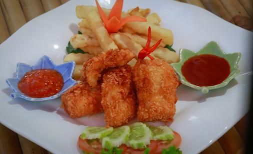 Villa Indochine D'angkor - Siem Reap - Thức ăn