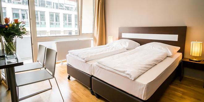 Hotel City Stay Frankfurt Hauptbahnhof - Frankfurt/ Main - Phòng ngủ