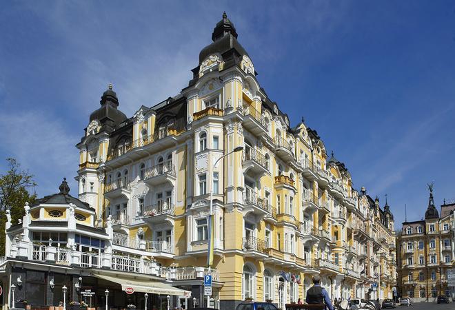Orea Spa Hotel Palace Zvon - Mariánské Lázně - Toà nhà