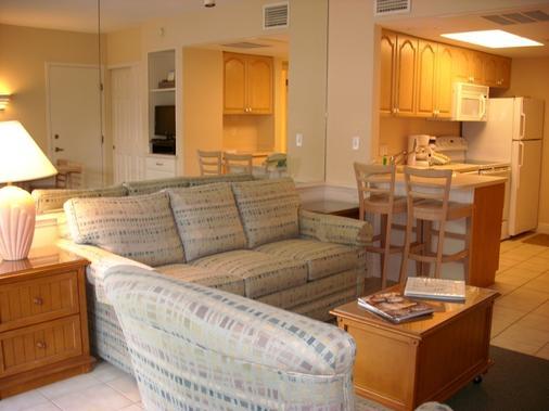 Caribe Beach Resort - Sanibel - Living room