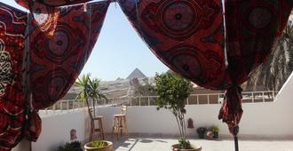 Pyramids Overlook Inn - Giza - Outdoor view
