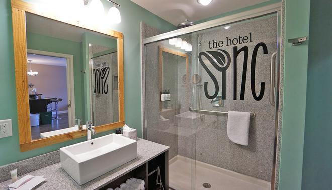 The Hotel Sync - Bowling Green - Kylpyhuone