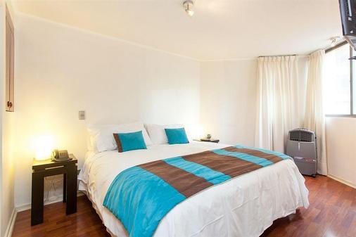 Eco Plaza Santiago - Santiago - Bedroom