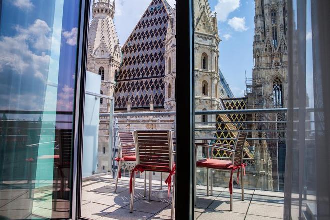 Boutique Hotel Am Stephansplatz - Vienne - Balcon