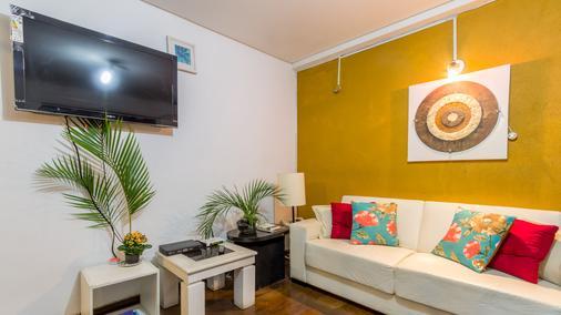 Pousada e Hostel SP Economica - Sao Paulo - Phòng khách