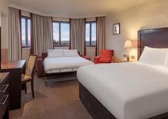 DoubleTree by Hilton Glasgow Westerwood Spa & Golf Resort - Glasgow - Schlafzimmer