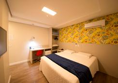 Hiber Hotel - Chapecó - Bedroom