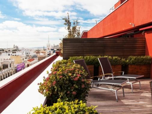 Vincci Soma - Madrid - Parveke