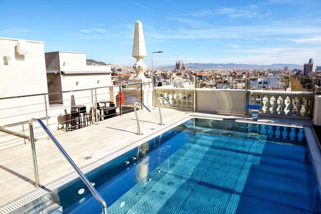 El Avenida Palace Hotel - Barcelona - Pool