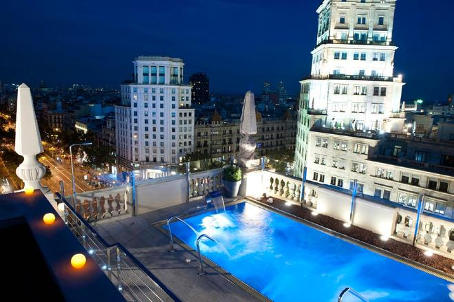 El Avenida Palace Hotel - Barcelona - Dachterrasse