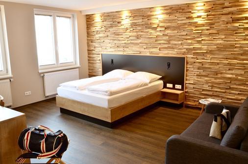 五酒店 - 紐倫堡 - 紐倫堡 - 臥室