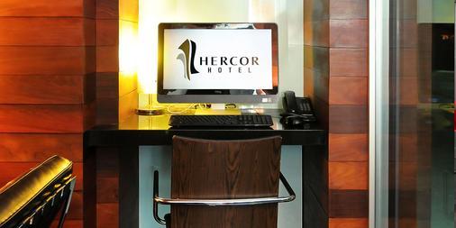 Hercor Hotel - Urban Boutique - Chula Vista - Khu vực làm việc