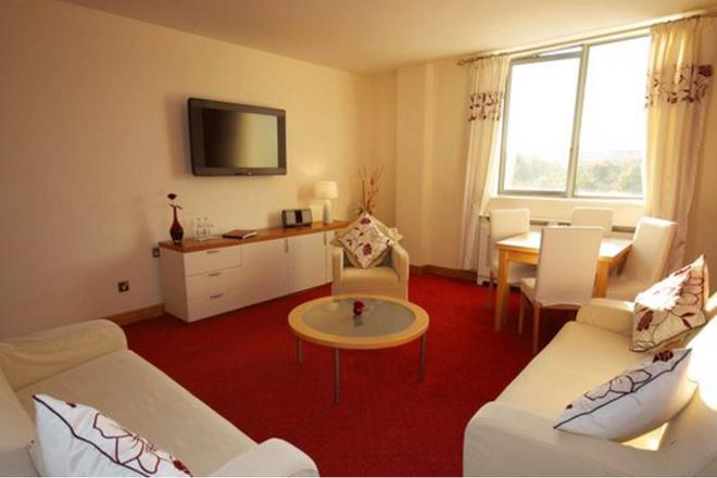 The Plaza Hotel - Dublin - Living room