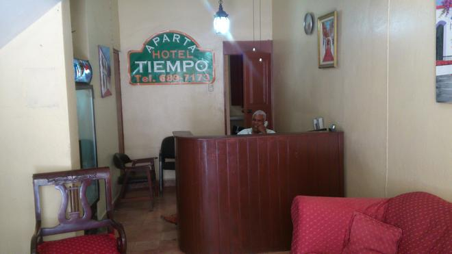 Aparta Hotel Tiempo - Santo Domingo - Front desk
