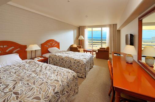 Rizzan Sea-Park Hotel Tancha-Bay - Onna - Phòng ngủ