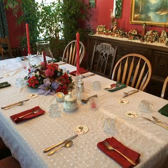 The Harkins House Inn Bed & Breakfast - Caldwell - Dining room