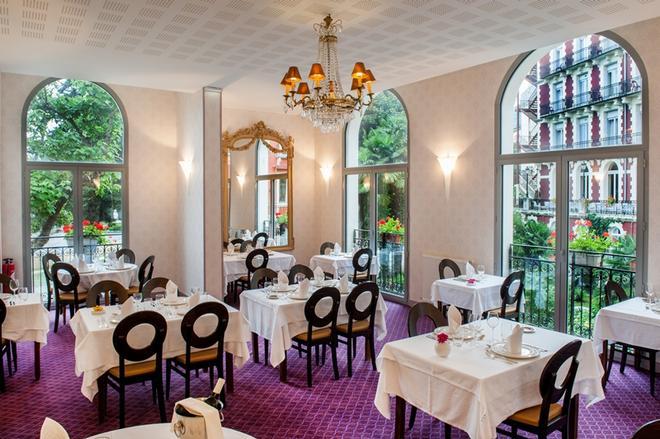 Hotel Chapelle et Parc - Lourdes - Nhà hàng