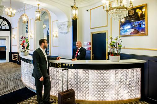 Grand Hôtel Gallia Chapelle & Spa Nuxe - Lourdes - Front desk