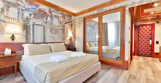 Hotel Leon D'oro - Verona - Schlafzimmer