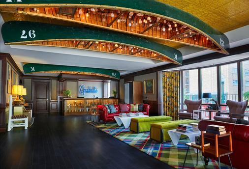 達爾曼校園酒店及校長俱樂部 - 麥迪遜 - 麥迪遜 - 大廳
