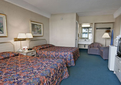 Travelodge by Wyndham San Francisco Airport North - South San Francisco - Bedroom