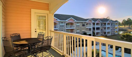 Myrtlewood Villas - Myrtle Beach - Balcony