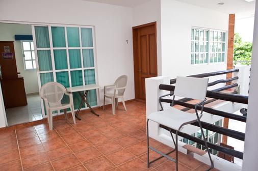Hotel Xbulu-Ha - Isla Mujeres - Balcony