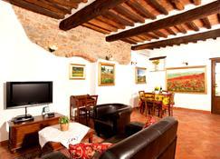 Villa La Mucchia Cortona - Cortone - Salon