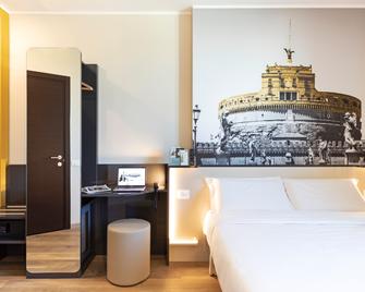 B&B Hotel Roma Fiumicino - Fiumicino - Schlafzimmer