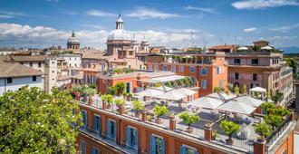 Hotel Ponte Sisto - Roma - Bygning