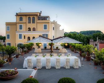 Hotel Ponte Sisto - Roma - Takterrasse