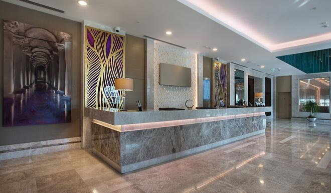 Dedeman Bostanci Istanbul Hotel & Convention Center - Istanbul - Front desk