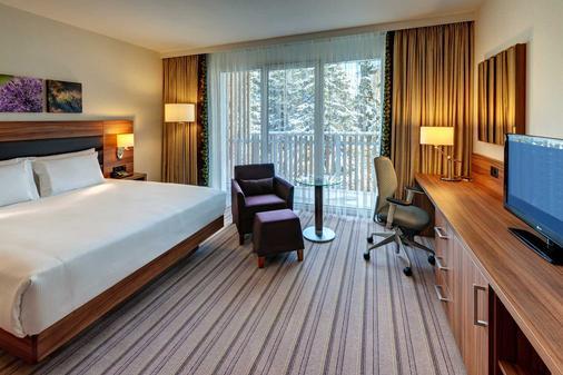 達沃斯希爾頓花園酒店 - 達弗斯 - 達沃斯 - 臥室