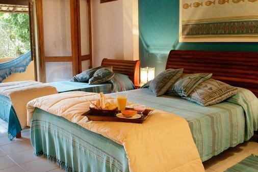 Hotel Pousada Coqueiros - Arraial d'Ajuda - Phòng ngủ