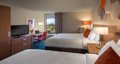 Fairfield Inn by Marriott Las Vegas Convention Center - Las Vegas - Phòng ngủ