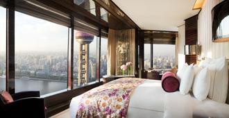 上海浦東麗思卡爾頓酒店 - 上海 - 臥室